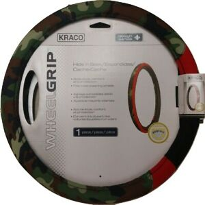 Kraco New Camo Steering Wheel Cover Fits Most 15 Fast Shipping Part 804990