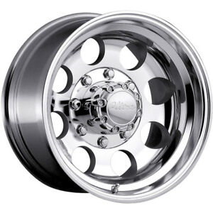 16x10 Polished Type 164 164 8x6 5 32 Wheels Trail Grappler 315 75 16 Tires