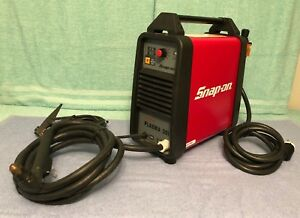 Lightly Used Snap on 30i Plasma Cutter Invertor style Plasma Arc Power 25 Amps