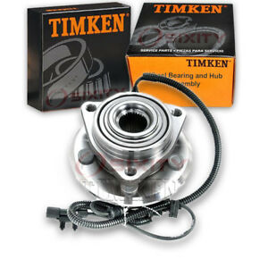Timken Front Wheel Bearing Hub Assembly For 2007 2011 Dodge Nitro Left Ni