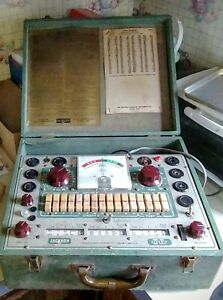 1950s Jackson 648a Tube Tester Powers On Untested Needle Moves