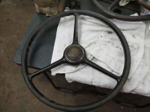 1935 1936 Pontiac Steering Wheel With Horn Button