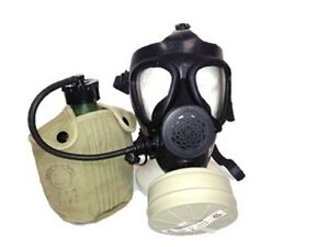 Israeli M15 Gas Mask With Nato Filter Insulated Canteen