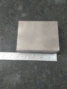 Titanium Block Plate 6al 4v 5 X 4 X 1 5 4lbs 12oz Chunk Sheet Lot Qty 5