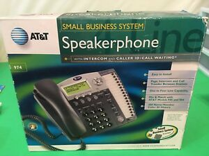 At t 974 4 line Small Business System Office Phone New Open Box