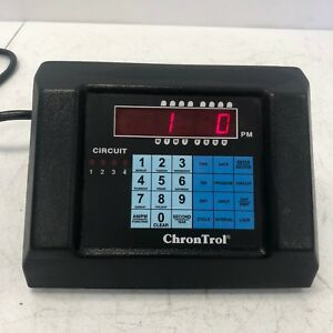 Chrontrol Xt 2 Programmable 2 Outlet Digital Table Top Timer Controller 95478