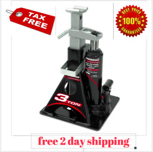 Powerbuilt 640912 All in one 3 ton Bottle Jack With Jack Stand