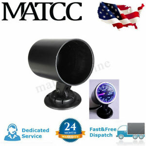2 2 Inch 52mm Universal Car Hole Dash Gauge Meter Pod Cup Mount Holder Black Us