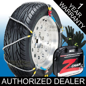 Scc Z chain 235 80r14 Tire Chains New Cable Snow Chains 235 80 14