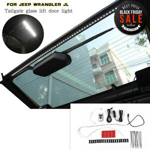 Led Rear Tailgate Glass Gate Hatch Dome Light Bar For Jeep Wrangler Jl Jk 07 18