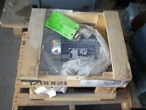 Emerson Es13 Electric Motor Elt5e2d 5hp 1740rpm 208 230 460v