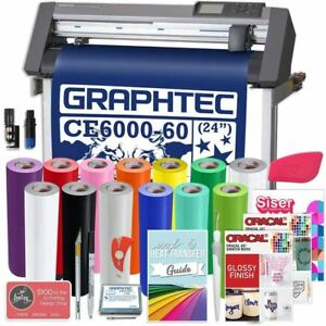 Graphtec Plus Deluxe Ce6000 60 24 Inch Vinyl Cutter With Software