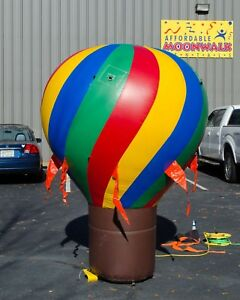 Multicolored 8 Spiral Advertising Inflatable Balloon