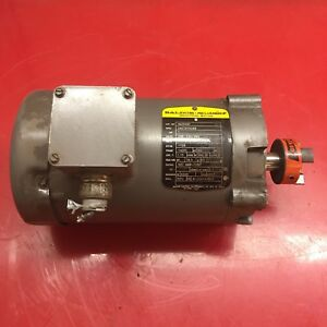 Baldor Vm3546t Electric Motor 1hp