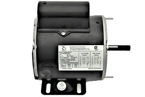 1 3 Hp Electric Motor 1 Ph With Base Mount 1725 Rpm 115v 230v With Cord