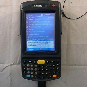 Motorola Mc7090 Symbol Computer Pda Wireless Barcode Scanner W 2 New Batteries