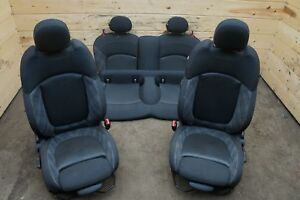 Set Front Rear Manual Sport Seat Assembly Heated Ht Bmw Mini Cooper F56 2014 17