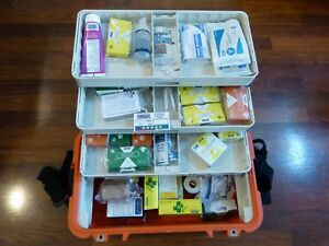 S0065 Pelican 1460 Case Ems Medical Trauma Bag Kit W supplies