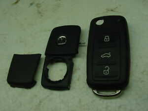 Flip Key Shell Repair Vw 2011 2014 New Beetle Golf Jetta Passat Haa