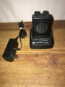 Motorola Minitor V Pager Free Programming Vhf 151 158 9975 2 Ch Sv W charger