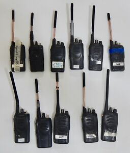 Lot Of 11 Kenwood Tk 2160 Vhf Fm Transceivers