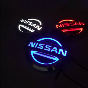Front Rear Led Logo For Nissan Rare Amazing Look Free Shipping Color