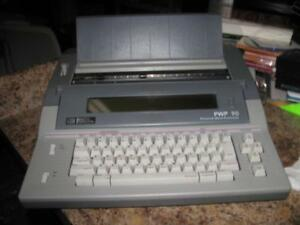 Smith Corona Pwp 90 Word Processor Electronic Typewriter As Is Parts Or Repair