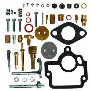 New Comprehensive Carburetor Repair Rebuild Kit Ih Farmall H Hv W 4 Tractor