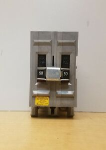 Nos Wadsworth 2 Pole 50 Amp Circuit Breaker free Shipping