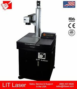60watt High Energy Mopa Fiber Laser Firearm Engraving System Ipg