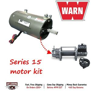 70865 Warn Motor Kit For Series 15 Industrial Winches