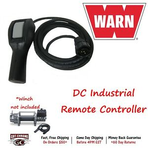 88528 Warn Winch Remote Hand Held Controller For Dc Industrial Winches 12 Lead