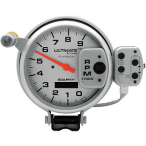 6874 Autometer 5 Inch Ultimate Playback Tachometer 9000 Rpm