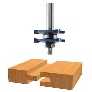 Bosch 84623m 1 4 inch Shank Tongue Groove Router Bit 3 wing With Bearing