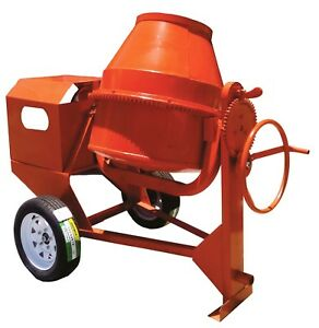 Concrete Cement Mortar Mixer 9 Cu ft 7 5hp Honda Engine Free Shipping