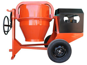 Concrete cement mortar Mixer 9 Cu Ft 13hp Honda Engine free Shipping