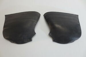 Pair Rubber 1951 1952 Chevy Gravel Stone Rock Panel Shield Guards Trim Molding
