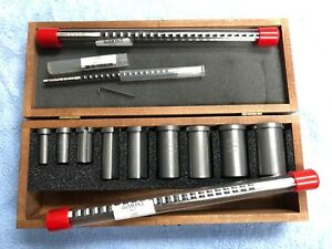 Dumont Minute Man American Standard Keyway Cutter Broach Tool Set No 30