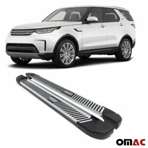 Side Step Running Boards Silver Aluminum Fits For Range Rover Evoque 2012 2019