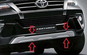 Genuine Toyota New Fortuner 2015 2018 Front Bumper Guard Cover