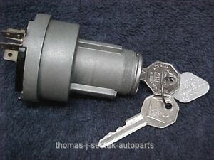 Nos Delco Remy Ignition Switch Gm Cadillac Caddy 57 58 59 60 61 1116545 1116604
