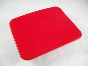 2004 2007 Chevy Aveo Hatchback Oem Fuel Filler Gas Door Cover 96408313 Red