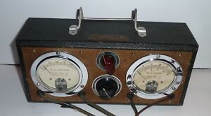 Vtg T H Avr Ammeter Voltmeter T H Manufacturing Kansas City Antique