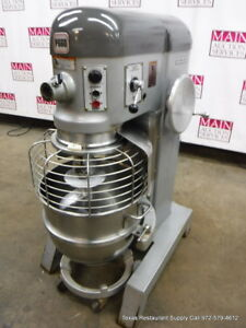 Hobart P660 Pizza Dough Mixer 60 Quart Bowl Dolly Hook 1 Phase 2 1 2 Hp