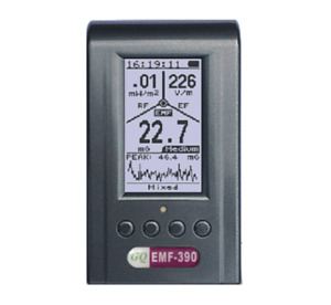 Advanced Emf 390 3 in 1 Multi field Electromagnetic Emf Meter With Data Logger