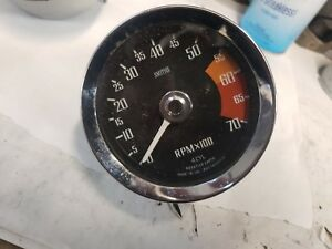 Mg Mgb Smiths Tachometer Tach Rvc 1410 00 Rebuilt And Tested