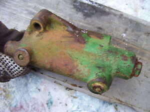 Vintage Oliver 1650 Diesel Tractor power Steering Supply Block 1966