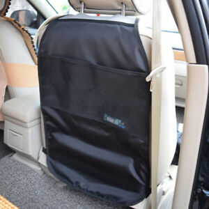 Car Seat Back Protector Cover Kids Kick Clean Mat Protects Storage Bags