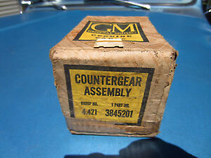 Nos Gm 1940 63 Chevrolet 3 Speed Transmission Countergear Assembly 3845201