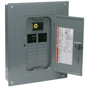 Square D Qo 100a Indoor Main Breaker Plug on Neutral Load Center 1 Each